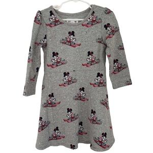 Baby Gap Disney Minnie Mouse Dress Gray Size 4T
